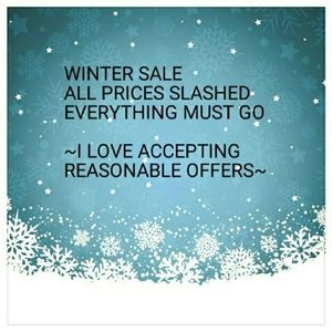 Winter Clothing Sale..Prices Slashed